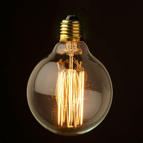 edison light vintage edison 95mm squirrelcage tungsten filament
