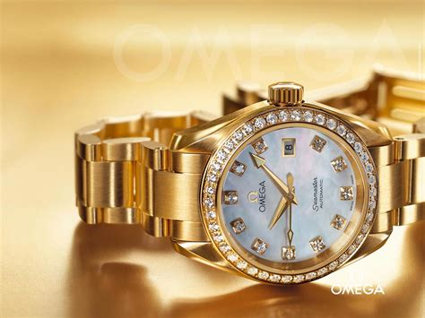 omega watches gold