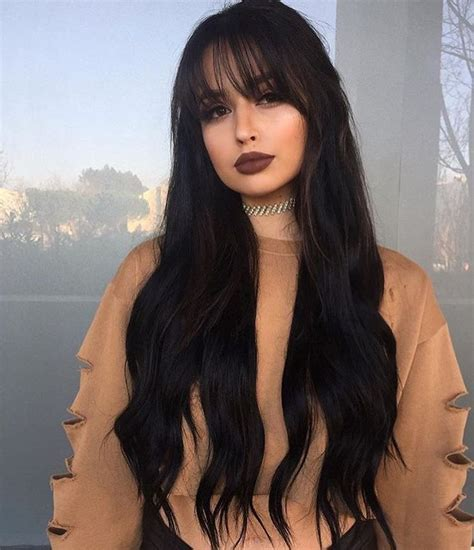 colored bangs best colored bangs ideas on fringes