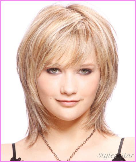 women with thing hair cutes womens medium haircuts for fine hair stylesstar com