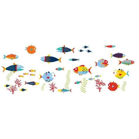 wall pops fish tales wall decals