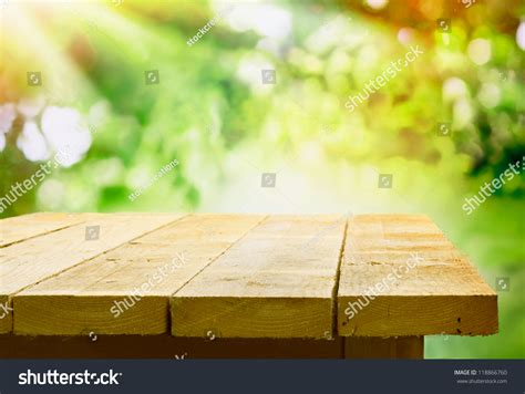 picnic table wood background