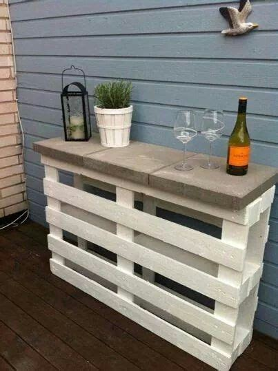 Outdoor Bar 191 by Mesada De Pallet P 233 Rgola Patio Muebles