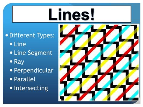 pattern types ppt geometry presentation