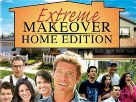 home makeover shows list the downward spiral extreme makeover reality edition