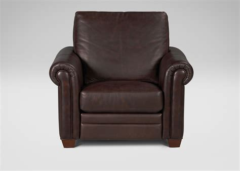 ethan allen recliners conor leather recliner recliners