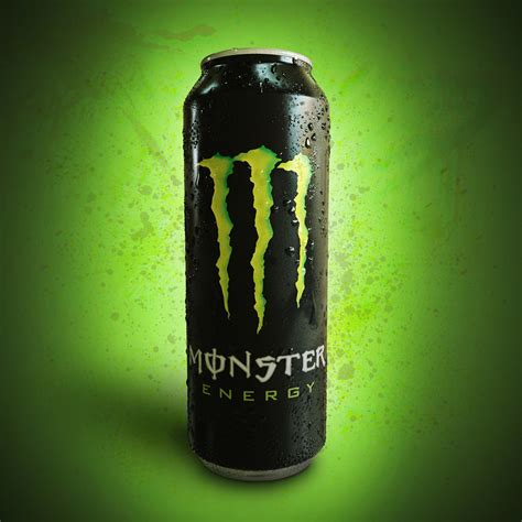monster energy 3d monster energy can this is a study to reproduce a 3d