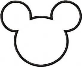 mickey mouse head templates parties free cute quality 180