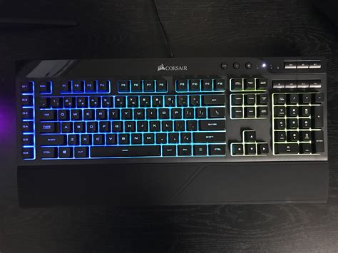 Corsair K55 Rgb By Chemicy Gaming corsair k55 rgb gaming keyboard review ign