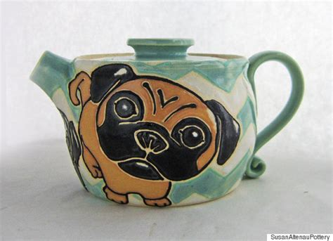 pug teapot 9 teapots with personality that will warm you up this winter huffpost