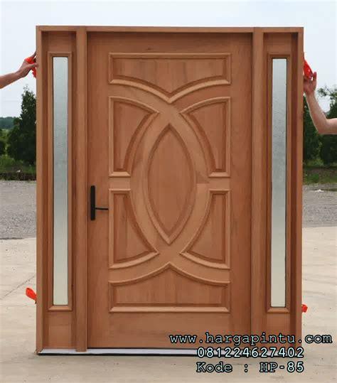 Kusen Pintu Model 6 jual kusen pintu rumah model single terbaru kayu jati