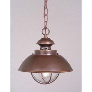 Nautical Light Fixtures Outdoor Vaxcel 1 Light Nautical Outdoor Pendant Lighting Fixture Burnished Bronze Clear