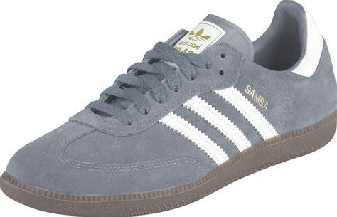 adidas samba shoes grey white gold