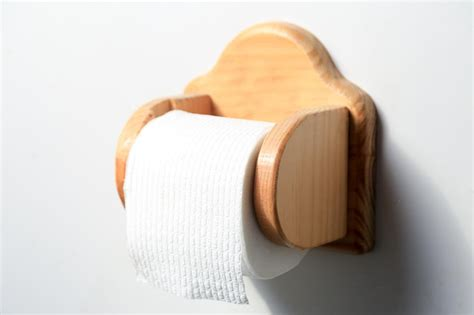 wooden toilet paper roller wooden toilet paper holder arch back by fqcraftswoodworks