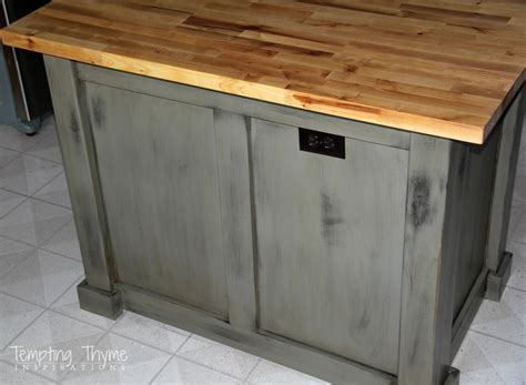 Bathroom Vanity Makeover Ideas caring for our butcher block tempting thyme