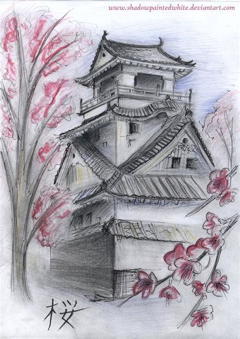 japanese house tattoo designs japanese house by shadowpaintedwhite on deviantart