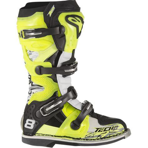 alpinestars tech 8 boots alpinestars s tech 8 rs boots black solomotoparts