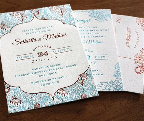wax paper wedding invitations deco feathers our newest foil and letterpress