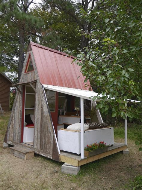 small a frame homes relaxshacks deek david stiles and joe team up on a quot transforming a frame cabin quot