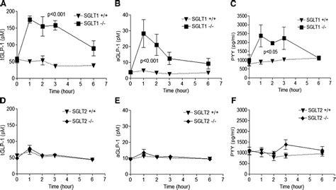 Serum Glucogen lx4211 increases serum glucagon like peptide 1 and peptide yy levels by reducing sodium glucose