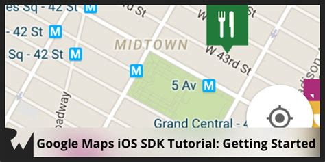 xcode map tutorial google maps ios sdk tutorial getting started
