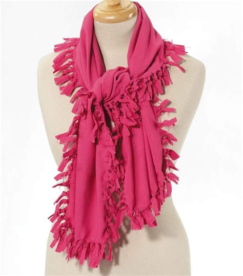 fleece craft projects 7 best images about fleece scarf on