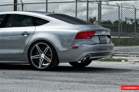 Audi A7 Wheels by Audi A7 Rides On New Wheels By Vossen Car Tuning