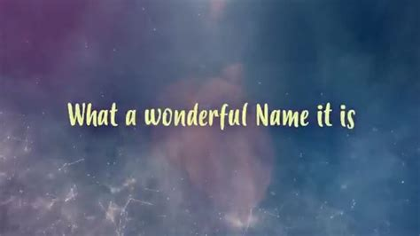 what a beautiful name what a beautiful name yancy ministries sermonspice