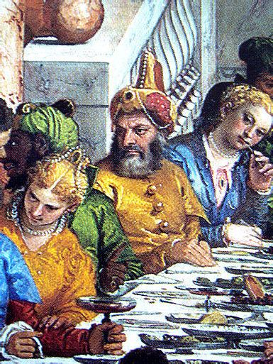 Wedding Feast At Cana Tintoretto by The Wedding At Cana