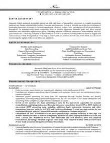 Senior Accountant Resume Example Kiwiresume Resume Samples