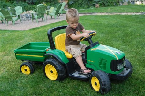 The Green Tractor the friedli family i ll take you for a ride on my big