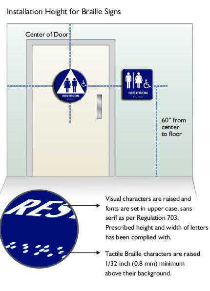 ada bathroom sign ada compliant bathroom signs affordable outstanding best restroom signs ideas on