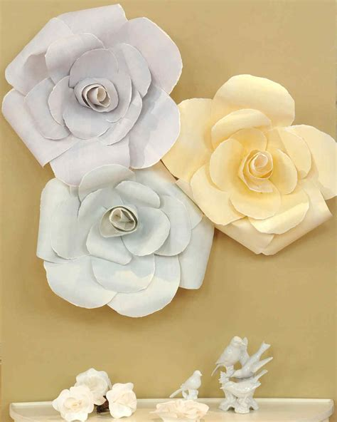 Paper Flowers Martha Stewart - inspired recipes crafts and decor martha stewart