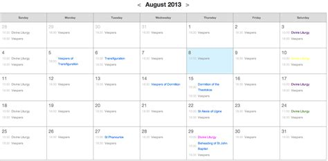 calendar layout the css css collapsing a table into a row of markers stack