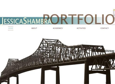professional portfolio title page digital portfolio examples