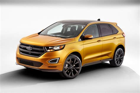ford crossover ford reveals all 2015 edge crossover the york times
