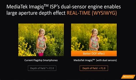 mediatek launches imagiq isp  dual cameras digital photography review