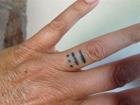 ring tattoos for men get the permanent expression of with a wedding ring