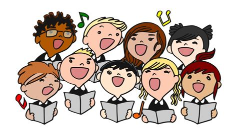 christmas choir singing clipart choir clipart transparent png   vippng