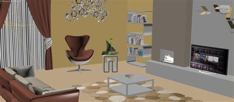 Model Interior Design Living Room Cicbizcom | interior design living room 3d model buy interior design