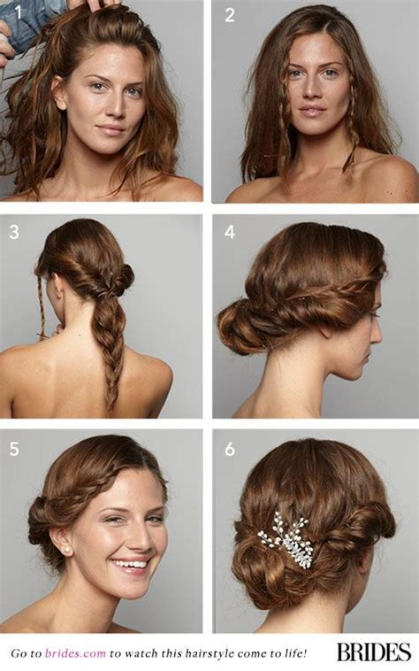 homecoming hair braids instructions wedding hairstyle 101 a braided updo wedding updo