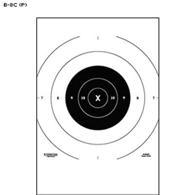printable pistol 10 yard targets law enforcement targets action target nra 25 yard