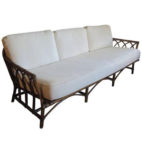 mcguire sofa mcguire bamboo sofa for sale at 1stdibs