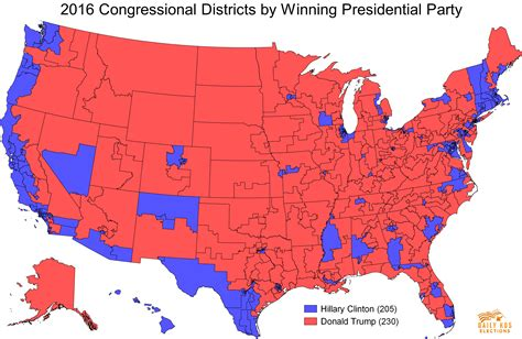 map us congressional districts daily kos elections presents the 2016 presidential