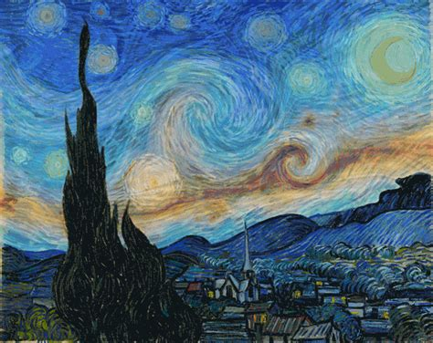 weve morphed  starry night  plancks view