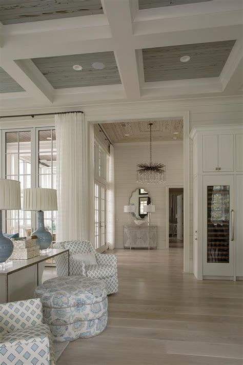 blue  gray living room contemporary living room