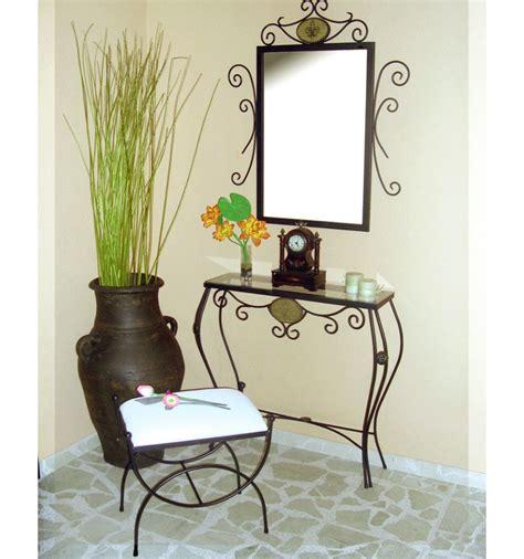 decoracion perchas ideas para muebles recibidor decora con consolas espejos