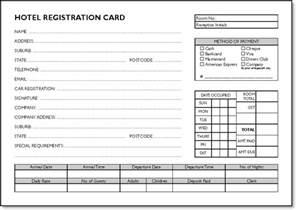 registration cards template guest registration cards pack of 250 printed hotel