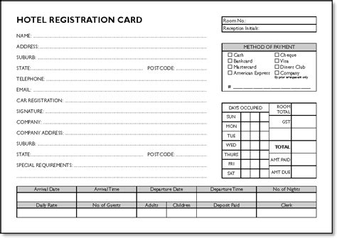 registration cards template registration cards template gallery exle resume