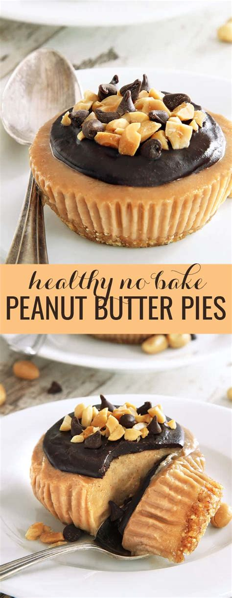 bake peanut butter pies great gluten  recipes   occasion